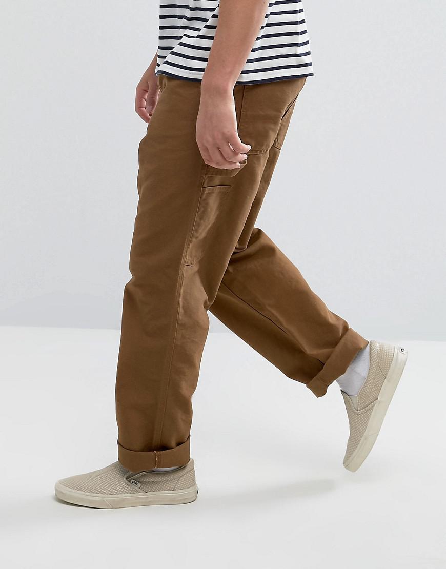 63a11f71 Carhartt WIP Single Knee Cargo Pants in Brown for Men - Lyst