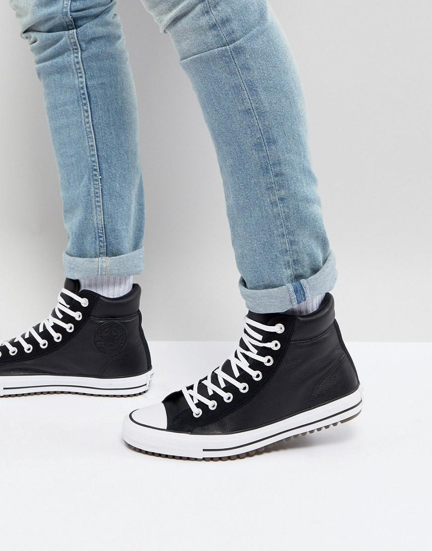7f2d819332b4 Converse. Men s Chuck Taylor All Star Street Sneaker Boots In Black  157496c001.  130  91 From ASOS
