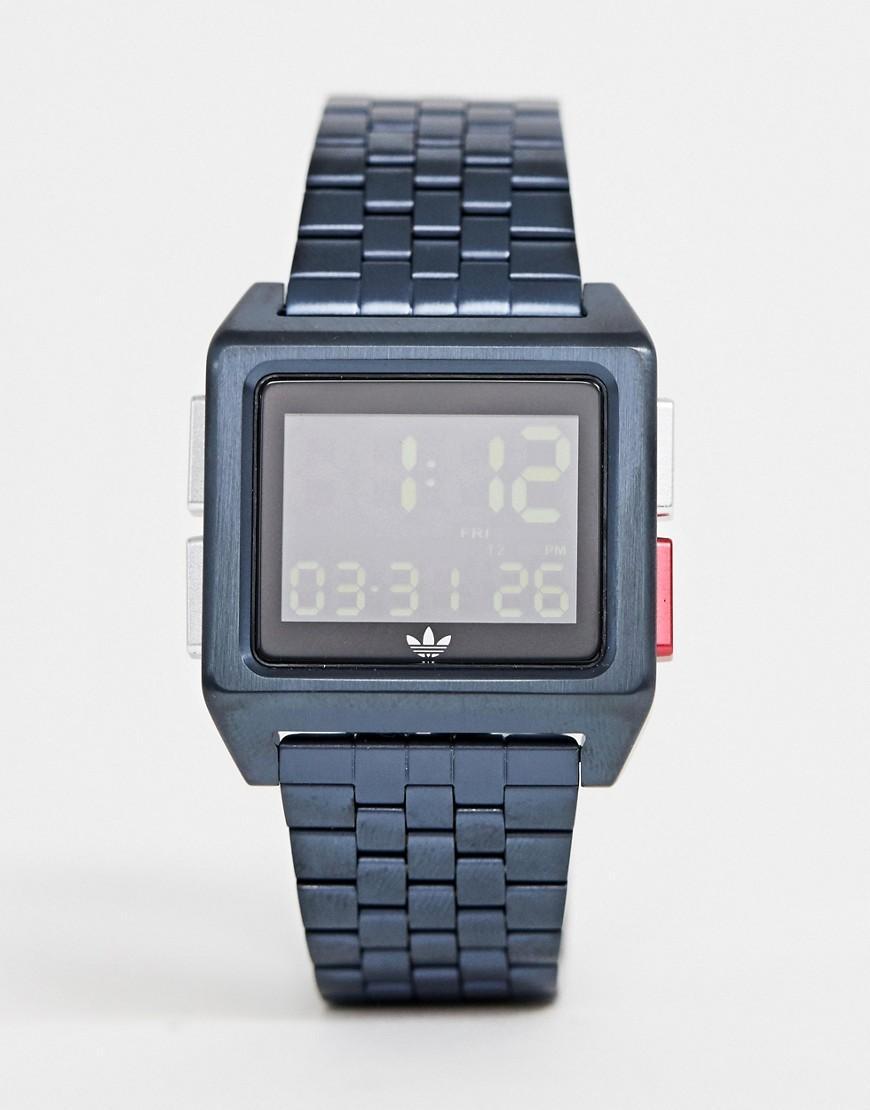 4c6716cf224b Reloj de pulsera en azul marino Z01 Archive de adidas de hombre de ...
