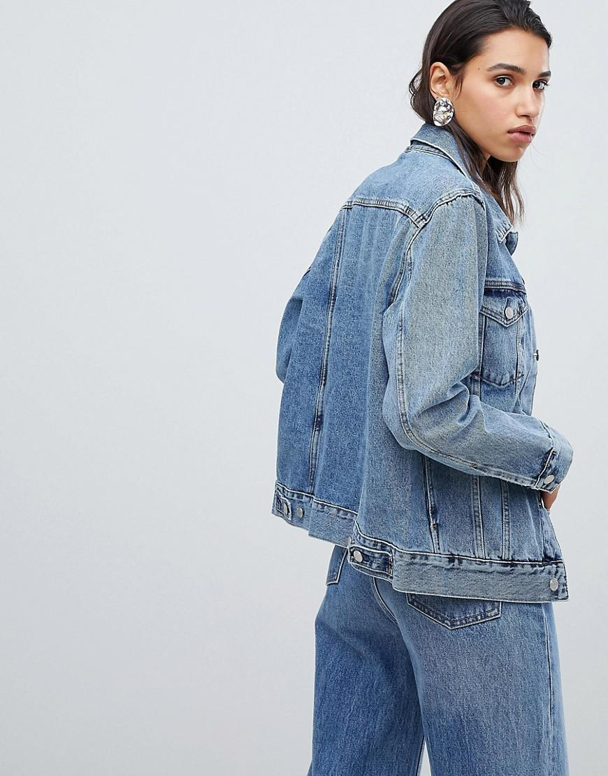 f1f54588a8fc Lyst - Weekday Denim Jacket in Blue
