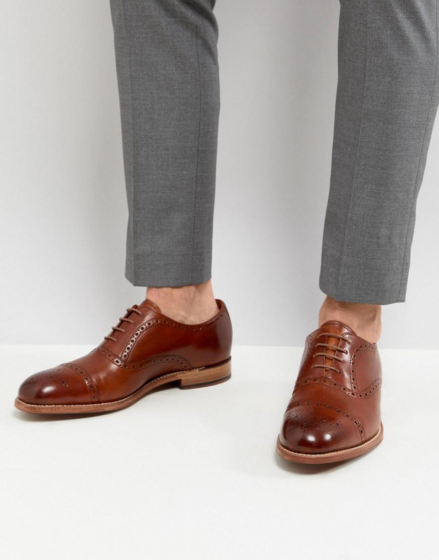 Grenson Matthew Richelieu Chaussures Chapeau Orteil - Tan ArH2sU
