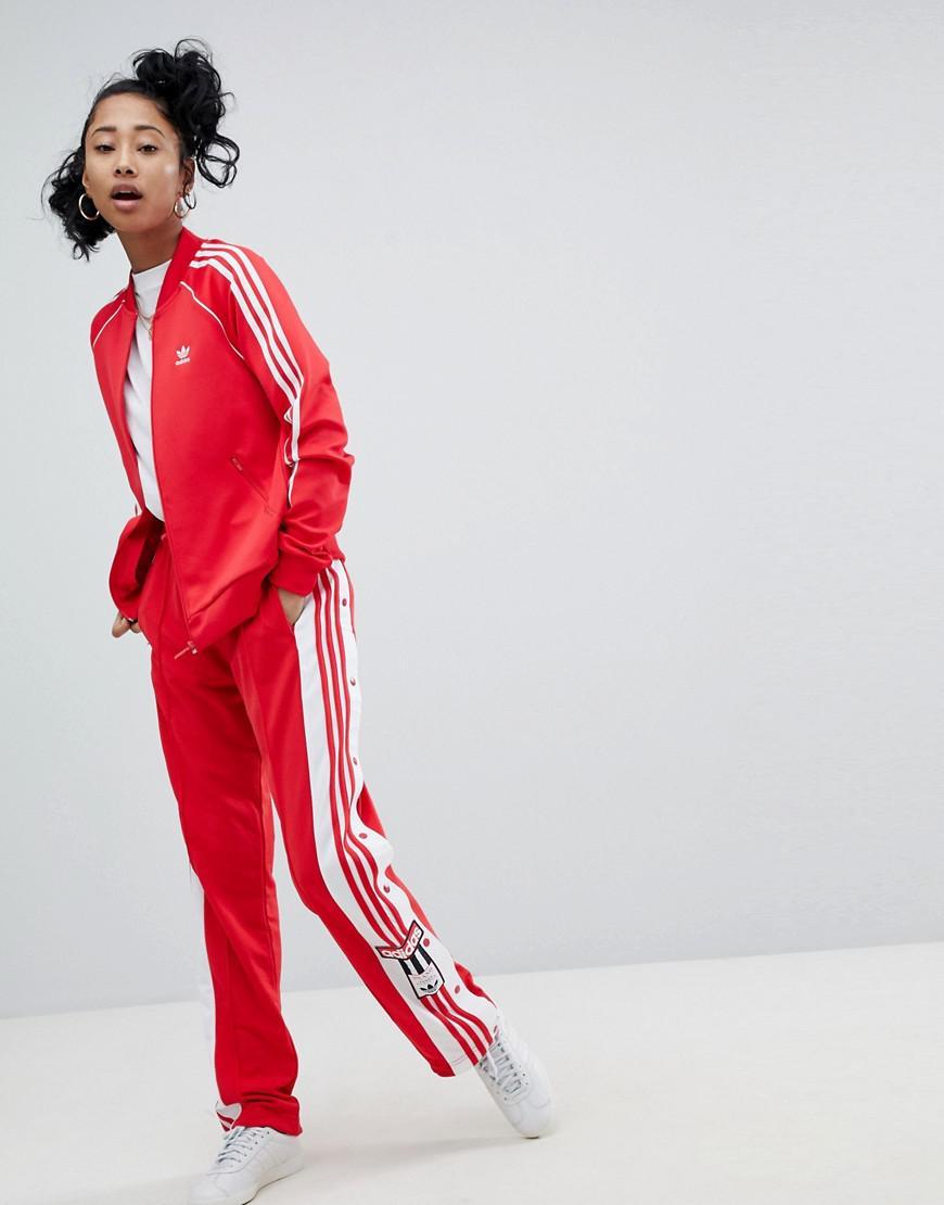 beauté nouveaux produits pour Prix usine 2019 Adicolor Adibreak adidas Originals en coloris Rouge - Lyst