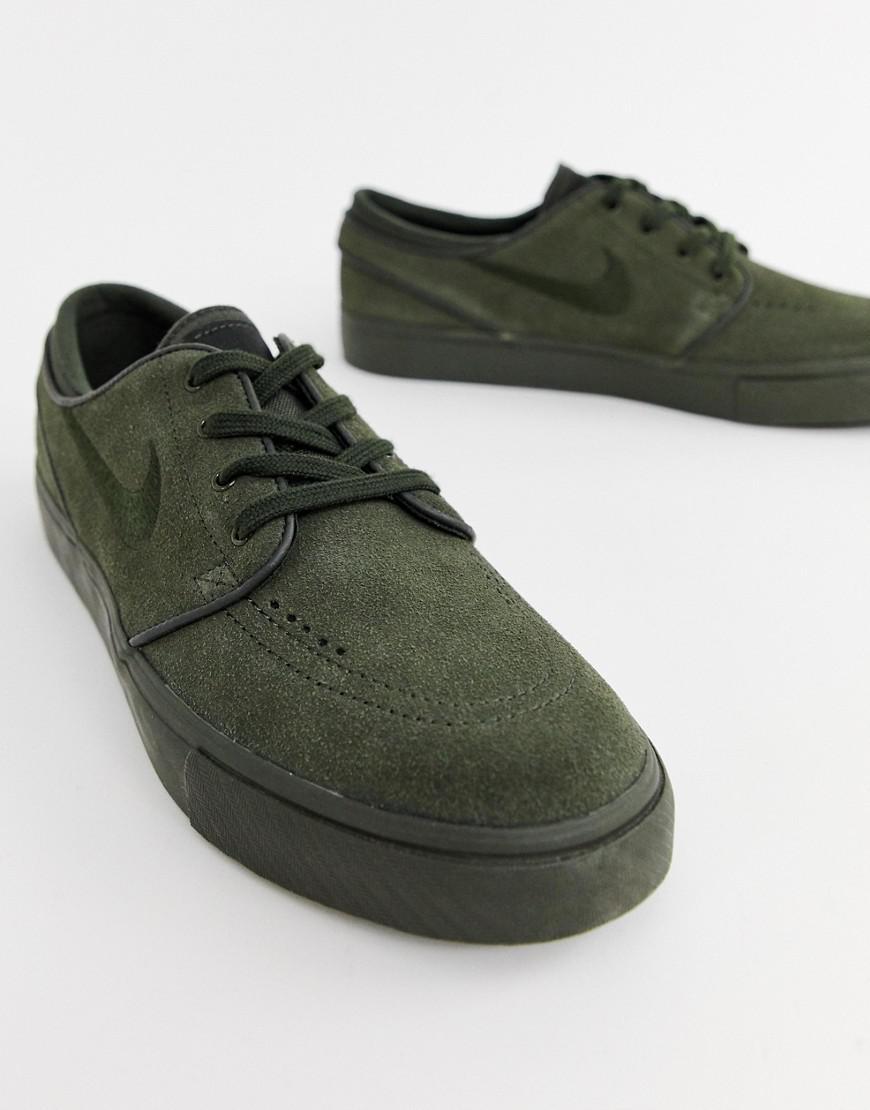 premium selection 4bd6c 4d067 Nike Zoom Stefan Janoski Trainers In Green 333824-313 in Green for Men -  Lyst