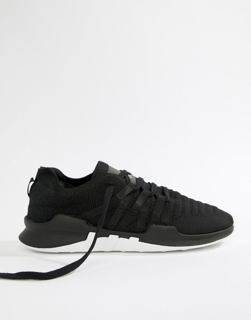 Lyst - adidas Originals Eqt Racing Adv Primeknit Sneakers In Black in Black b6f1483c8
