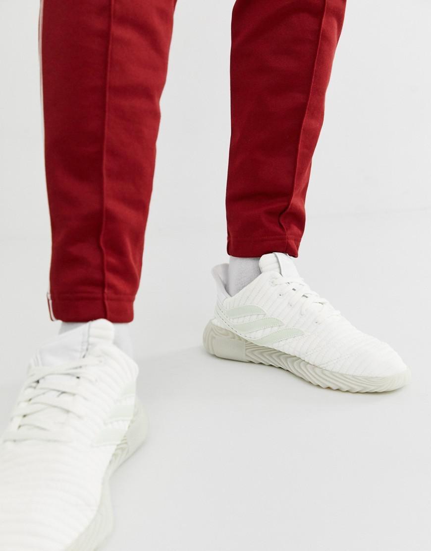 2e556585de6 adidas Originals Sobakov Sneakers White in White for Men - Lyst