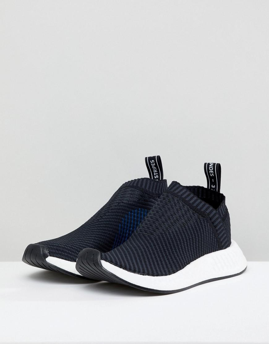 brand new a45d0 122e7 adidas Originals Nmd Cs2 Trainers In Black in Black - Lyst
