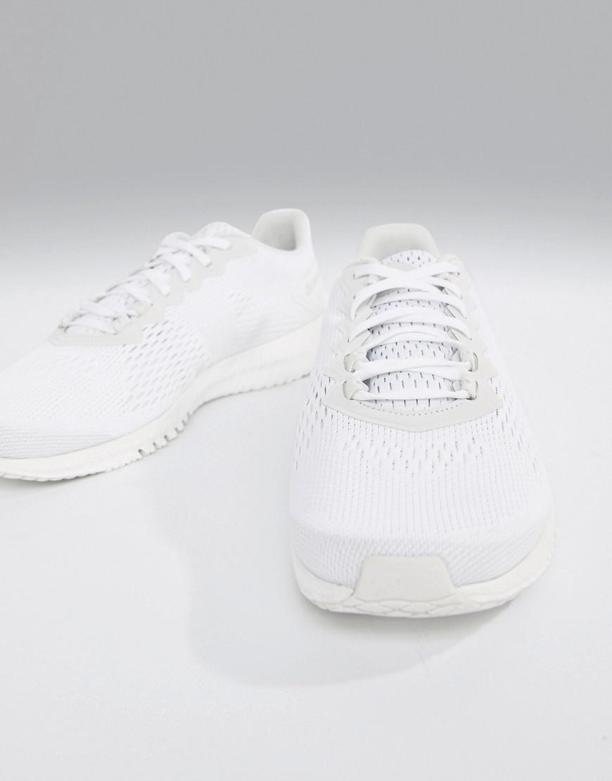 a0557f45a32 Reebok Training Astroride Flex Trainers In Triple White Cn8532 in ...