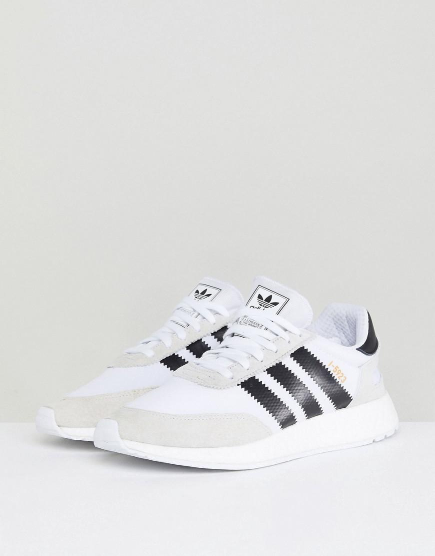 Lyst - adidas Originals I-5923 Runner Boost Sneakers In White Cq2489 in  White for Men 955f4689165c3