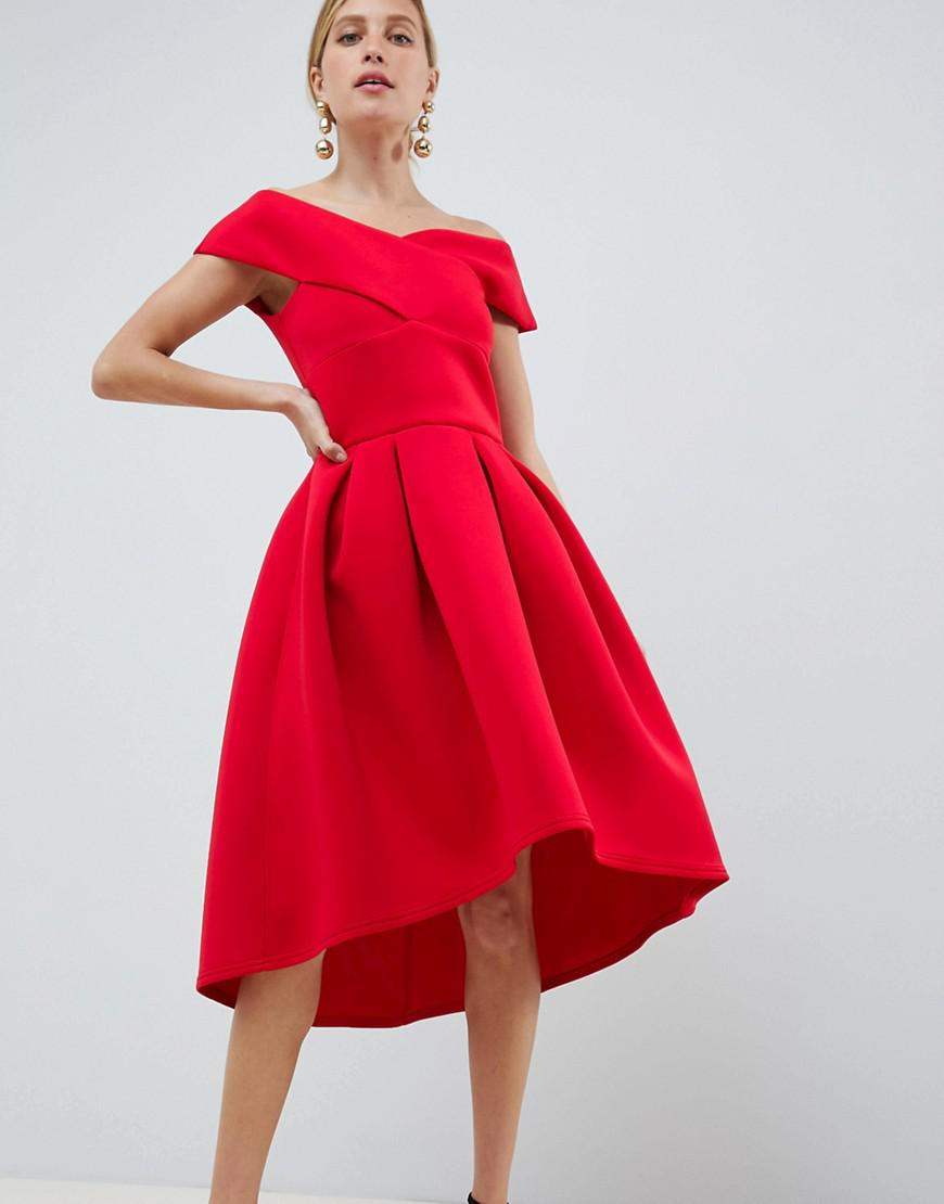 Prom Dress with Bow in Front