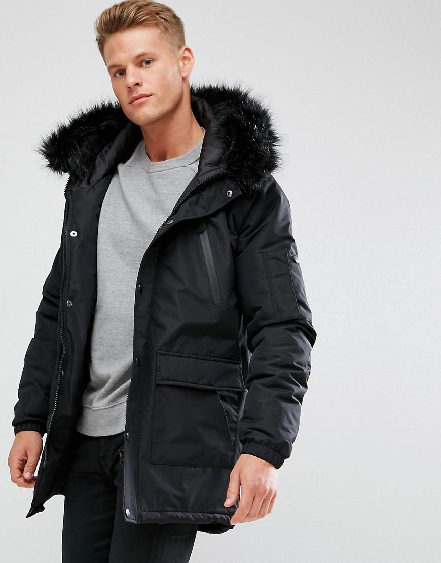 Thanks to its insulating down fill and removable faux-fur trim, this surplus-inspired jacket will keep him warm and cozy when the temperature drops. fill-power down. Fill power measures the loft of the down and ranges from to 1, for apparel.