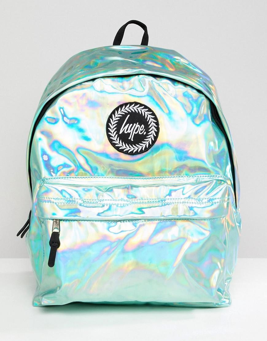 2008fb311dfb Hype Backpack In Green Holographic in Green for Men - Lyst
