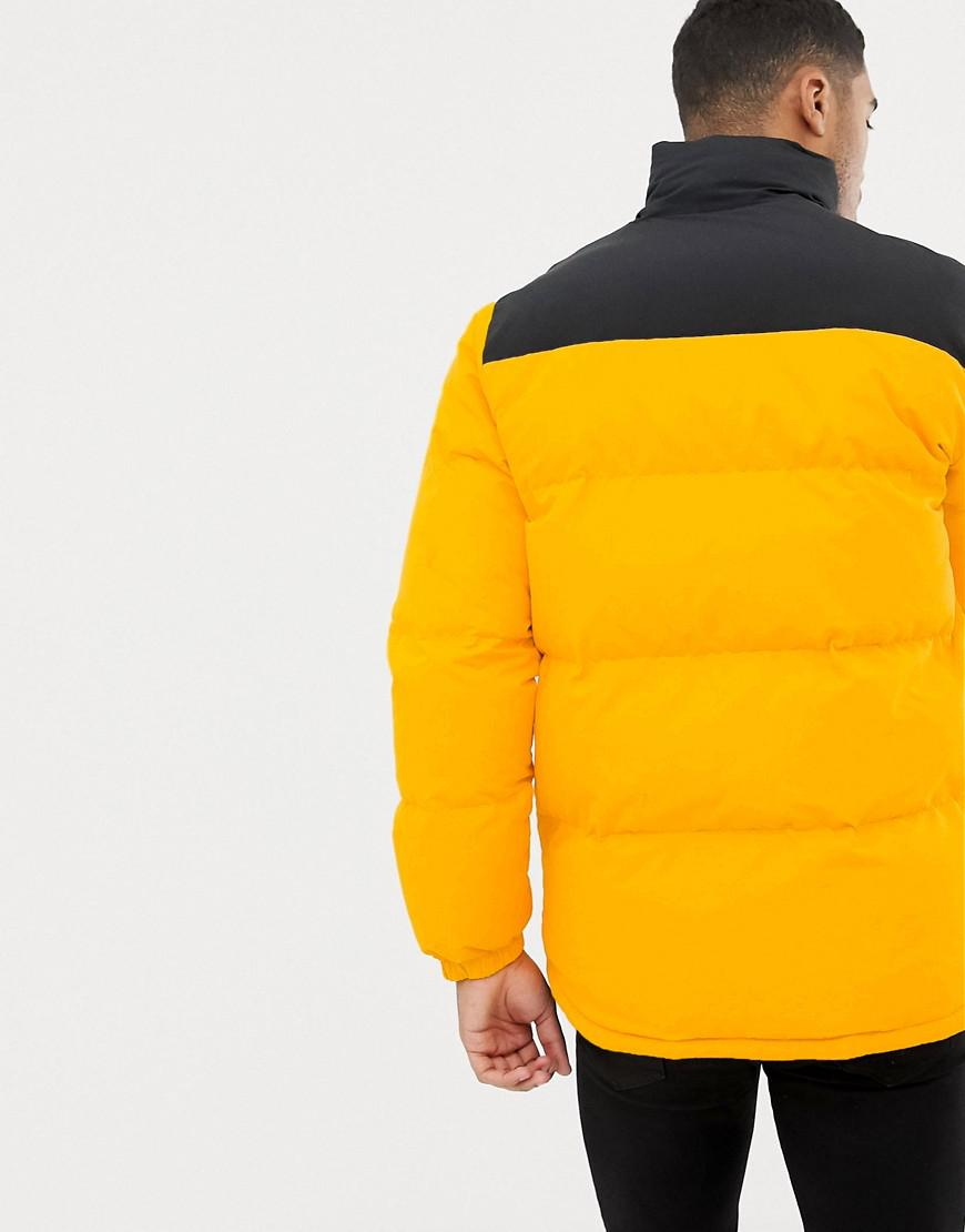 official price modern techniques top-rated real Puffer Jacket In Yellow 10009065-a01