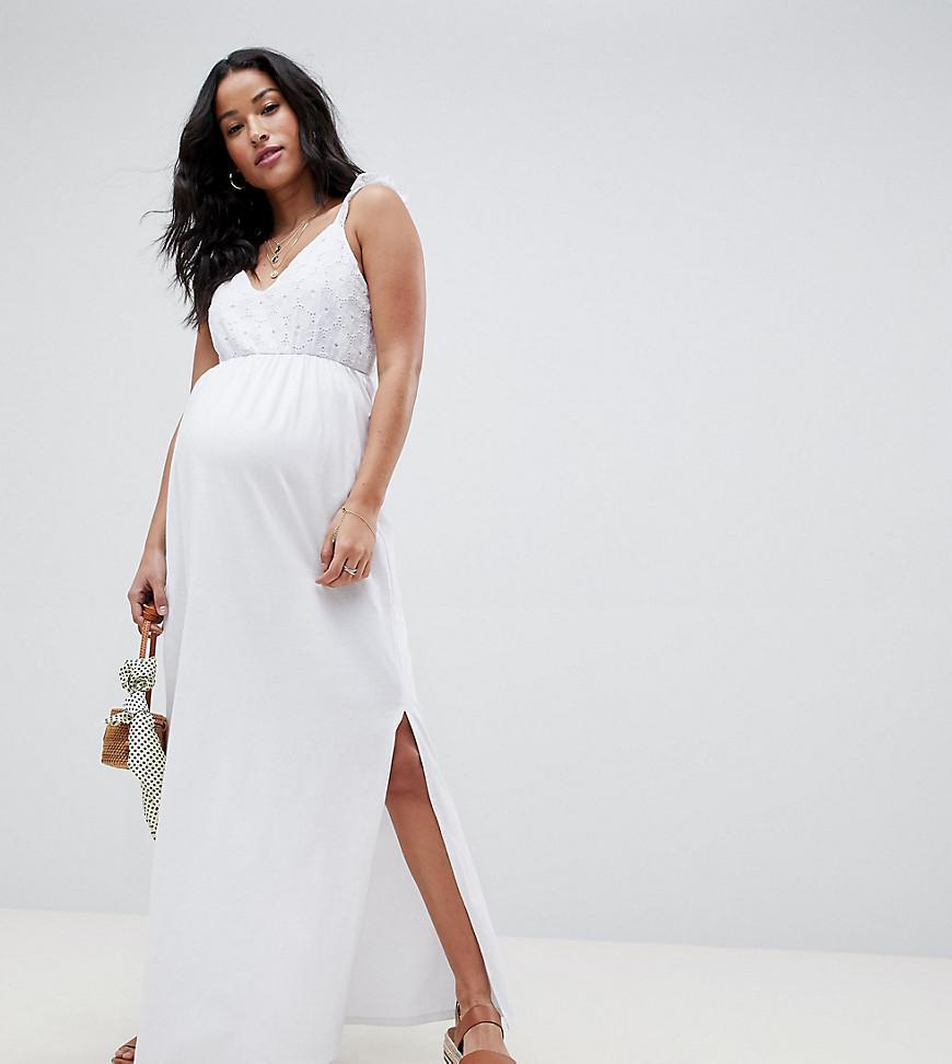 Asos Asos Design Maternity Maxi Sundress With