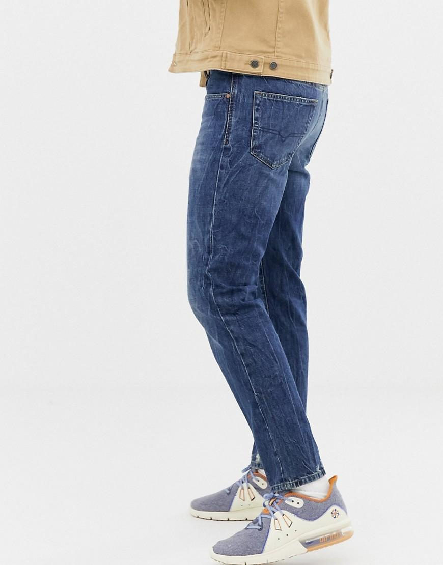 b8de84e5 Lyst - DIESEL Mharky 90s Slim Fit Jeans In 080ag in Blue for Men