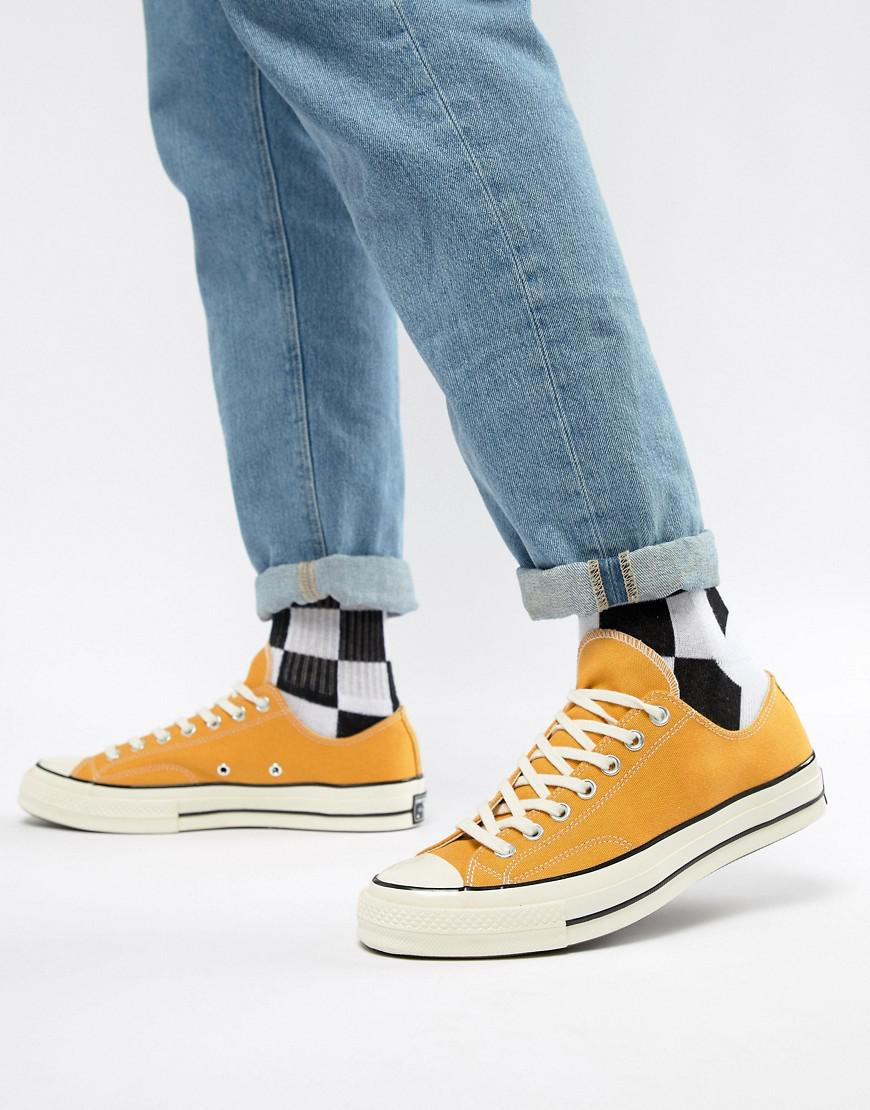 db0207e3ea3 Converse All Star Ox 70 S R in Yellow for Men - Save 24% - Lyst