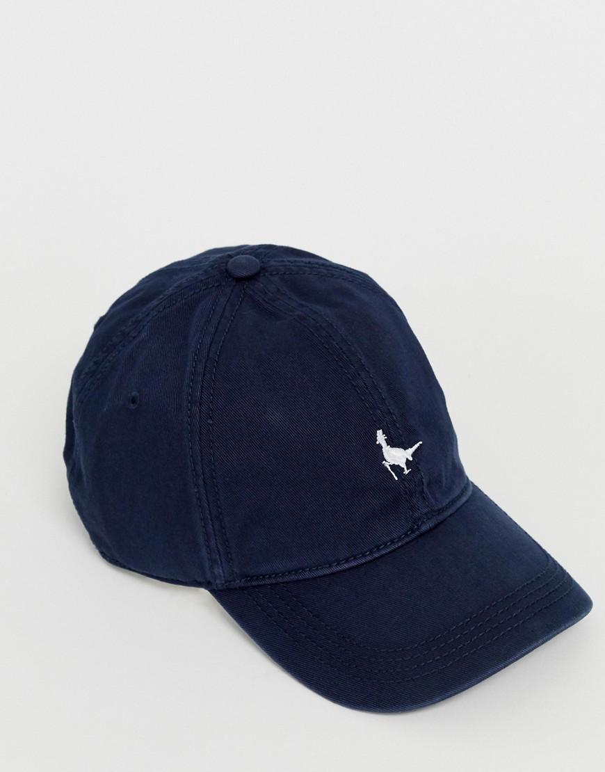f51f29ef7 Jack Wills Enfield Logo Baseball Cap In Navy in Blue for Men - Lyst