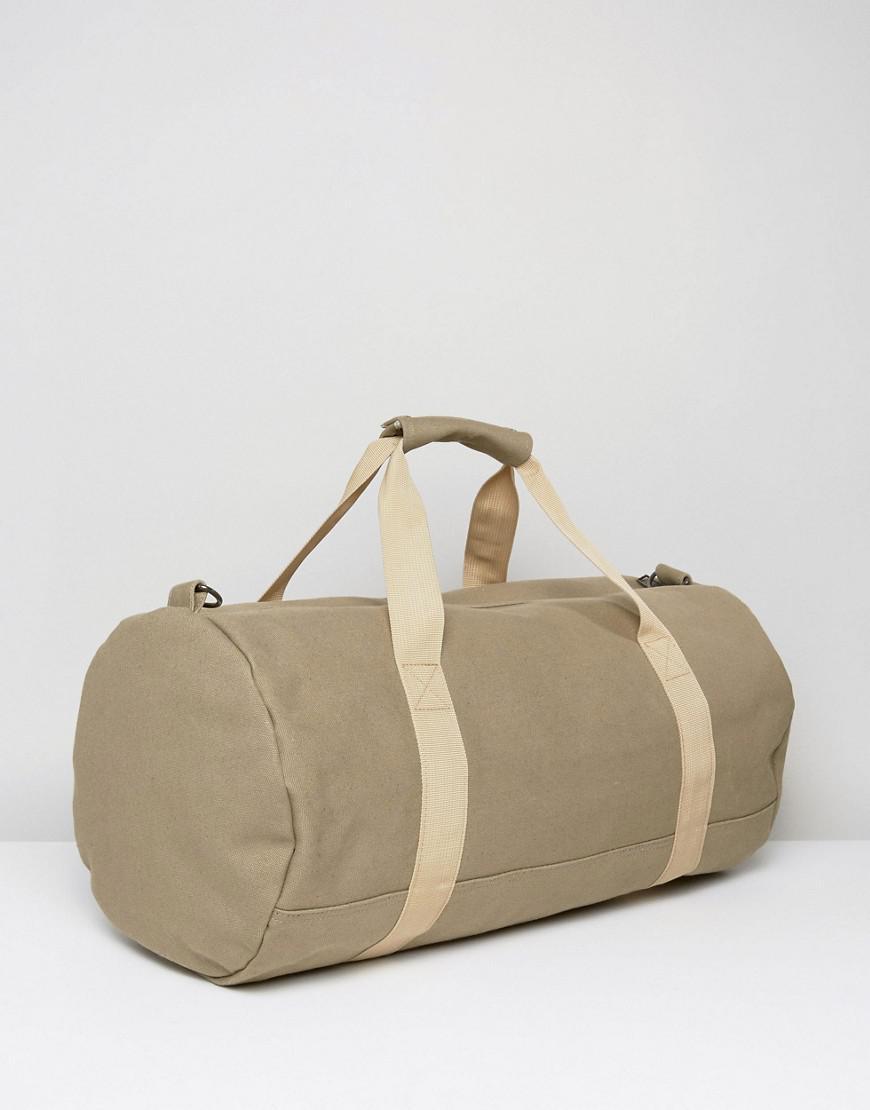 Lyst - Mi-Pac Canvas Duffel Bag In Khaki in Green for Men e96c1a8d69321