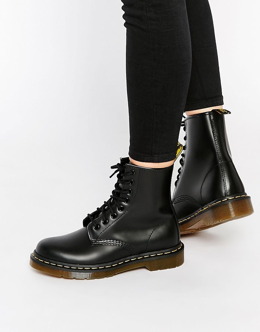 d93892d13851 Lyst - Dr. Martens Modern Classics Smooth 1460 8-eye Boots in Black