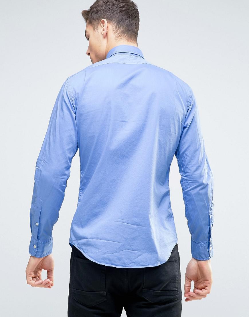 fddbaabf8e1c Gallery. Previously sold at  ASOS · Men s Mandarin Collar Shirts Men s Ralph  Lauren ...