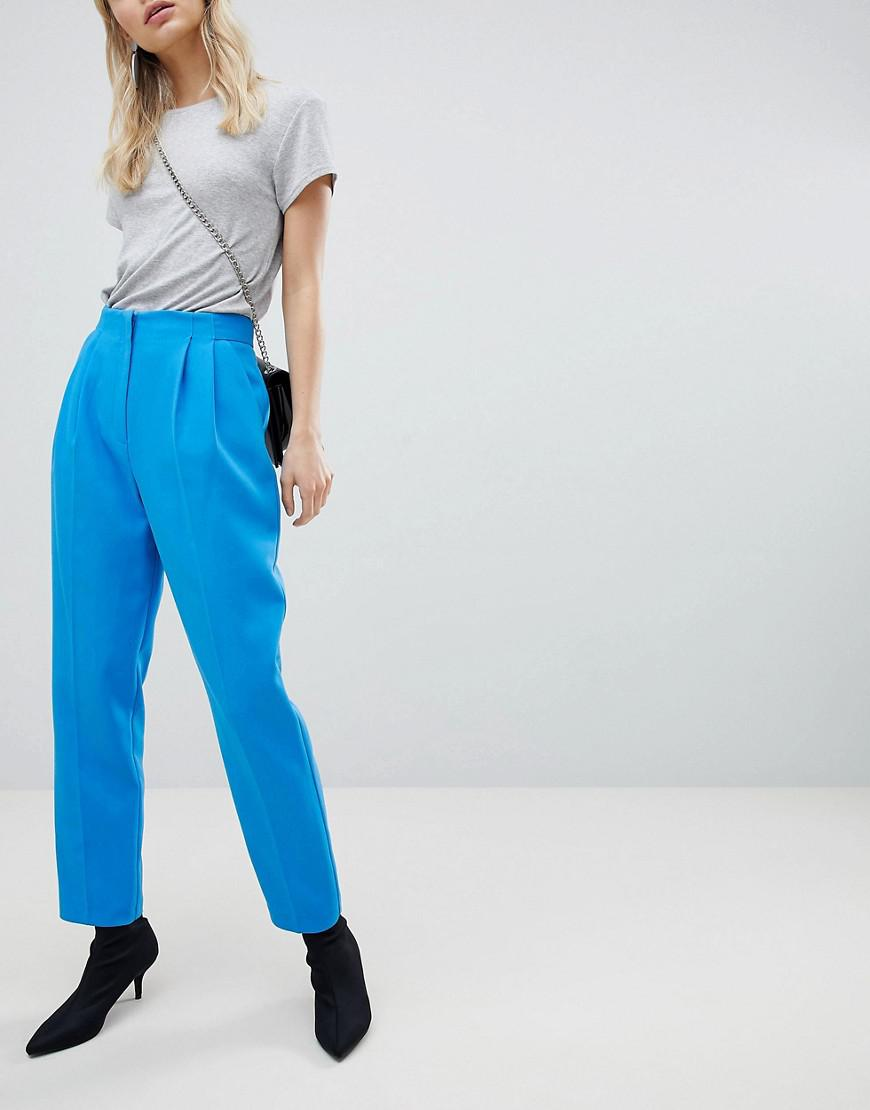 Peg Leg Trousers - Blue Miss Selfridge yzkUIX6O