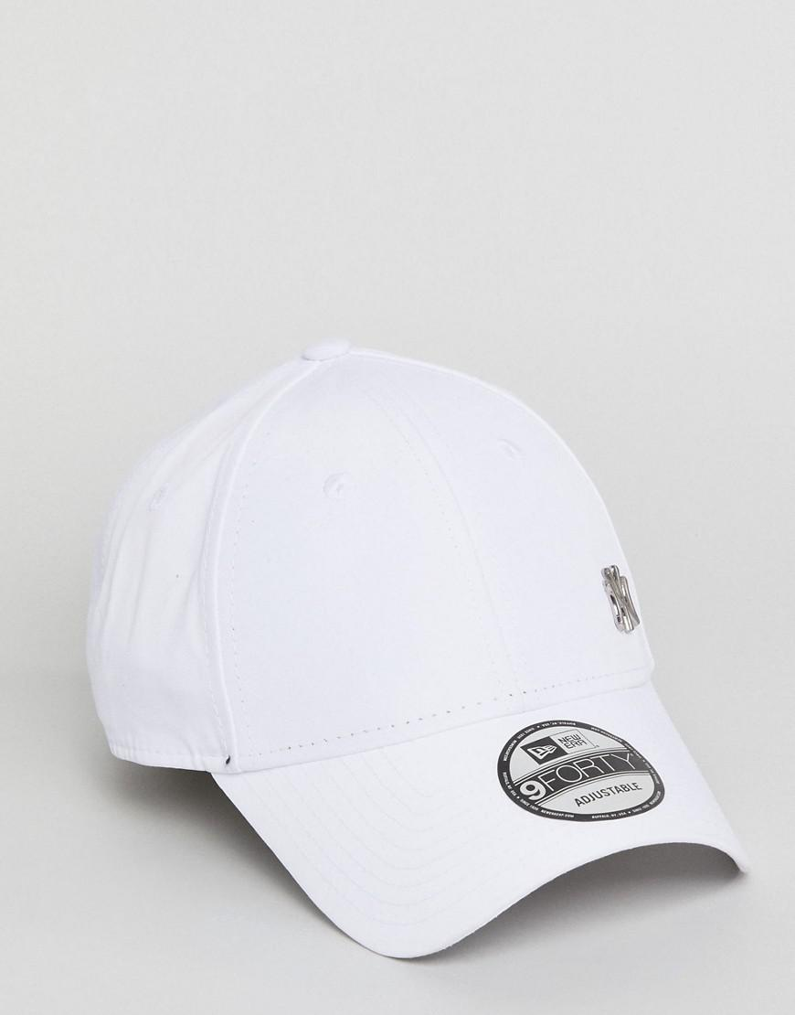 KTZ 9forty Flawless Adjustable Cap Ny Yankees in White for Men - Lyst 0591c7d49c5a