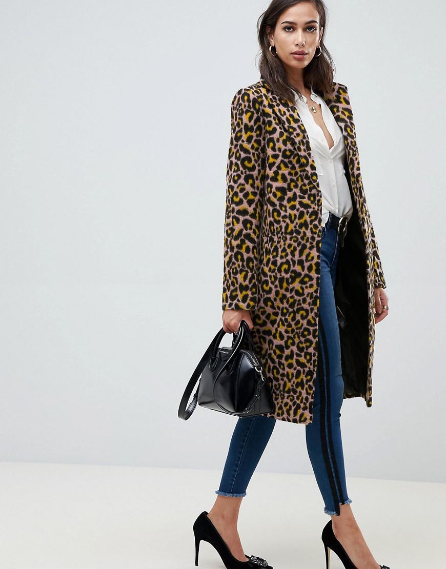 f896dd09b5f ASOS. Women s Leopard Coat