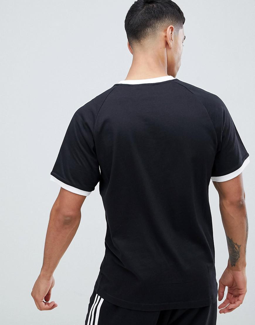 Lyst Adidas Originals Adicolor California T Shirt In Black Cw1202 Case Iphone X For Men
