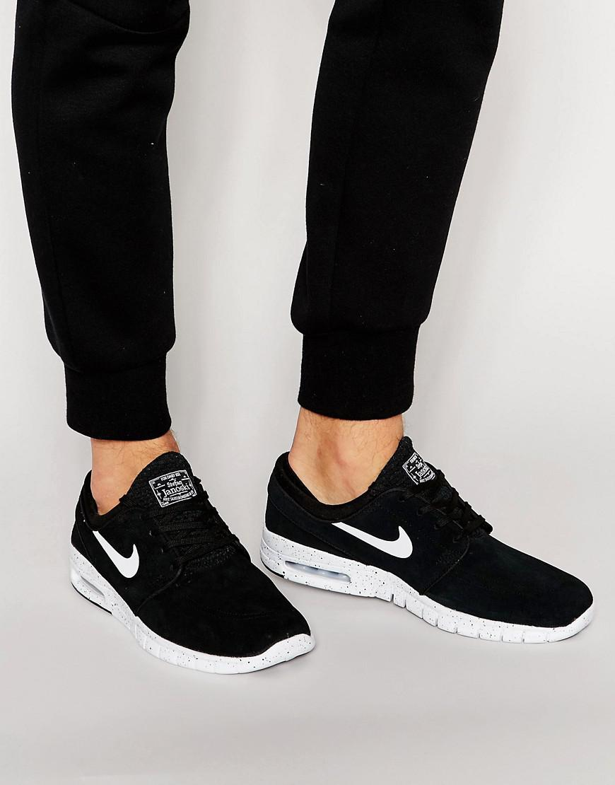 hot sale online bdac0 ebb10 Nike - Janoski Max Trainers In Black 685299-002 for Men - Lyst. View  fullscreen