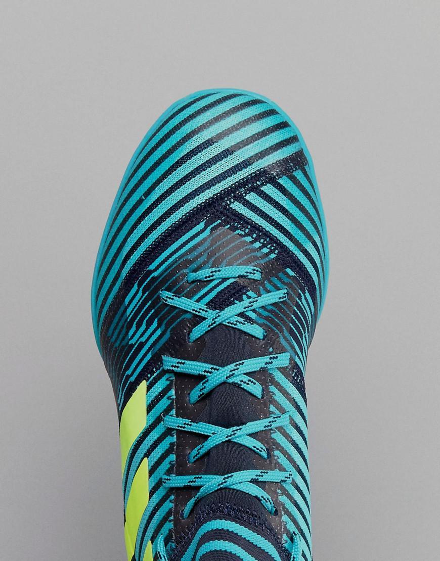 0663c4f18038 Lyst - adidas Football Nemeziz Tango 17.3 Indoor Trainers In Navy ...