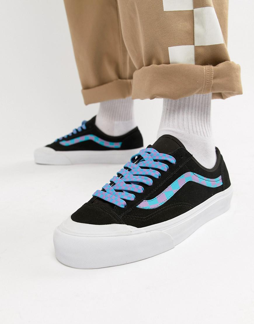 c3d64babbd Vans Style 36 Trainers In Black Exclusive At Asos in Black for Men - Lyst