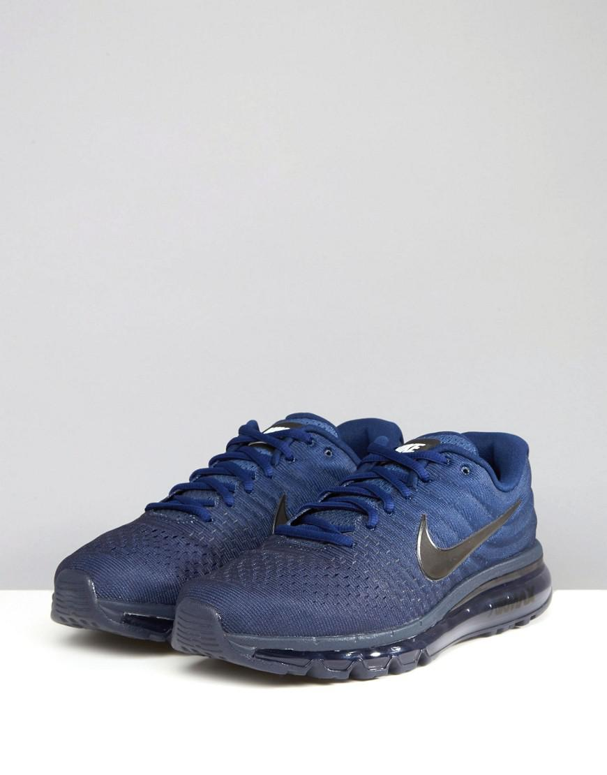 new style aceac 1e906 Nike Air Max 2017 Sneakers In Blue 849559-405 in Blue for Me