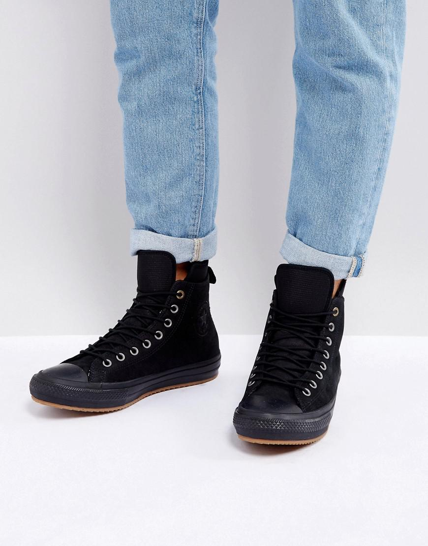 Lyst - Converse Chuck Taylor All Star Wp Sneaker Boots In Black ... bef74cc4d