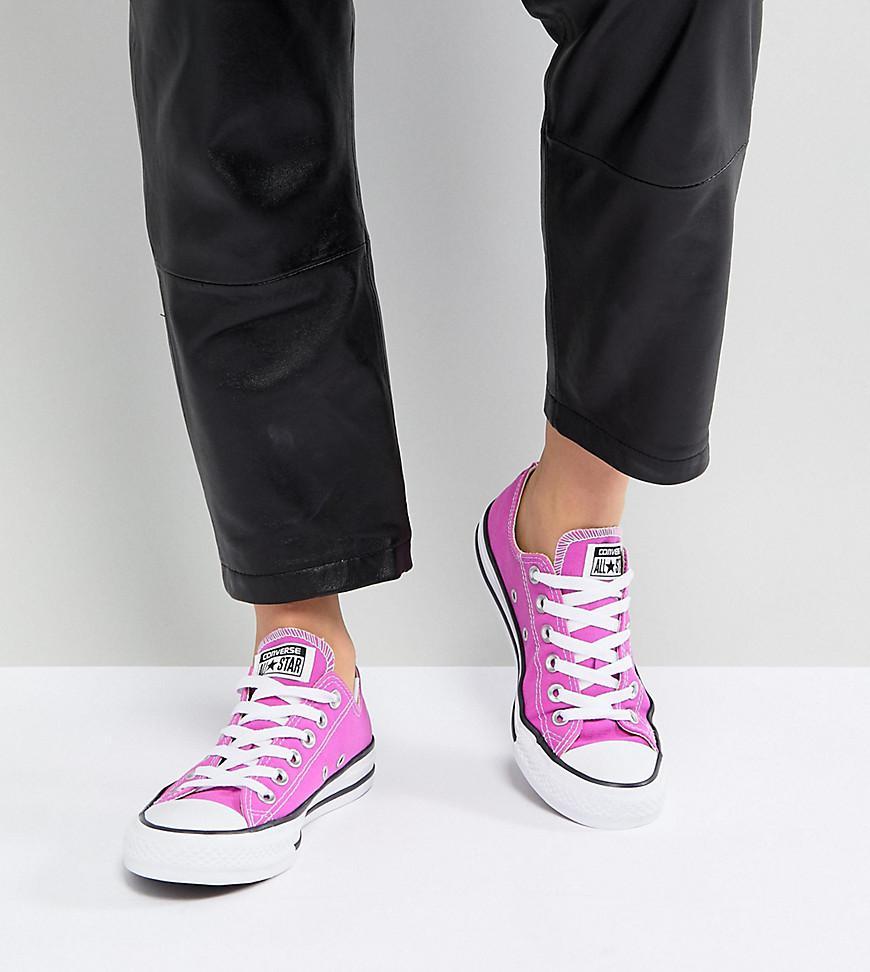 Chuck Taylor All Star Trainers In Bright Magenta - Pink Converse MUQQlQuM