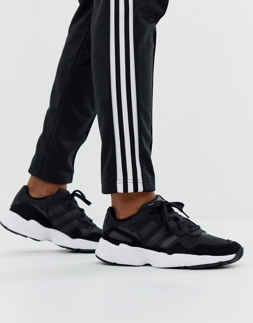new concept a3e5d 47bbf adidas Originals Yung-96 Sneakers Black in Black for Men - Lyst