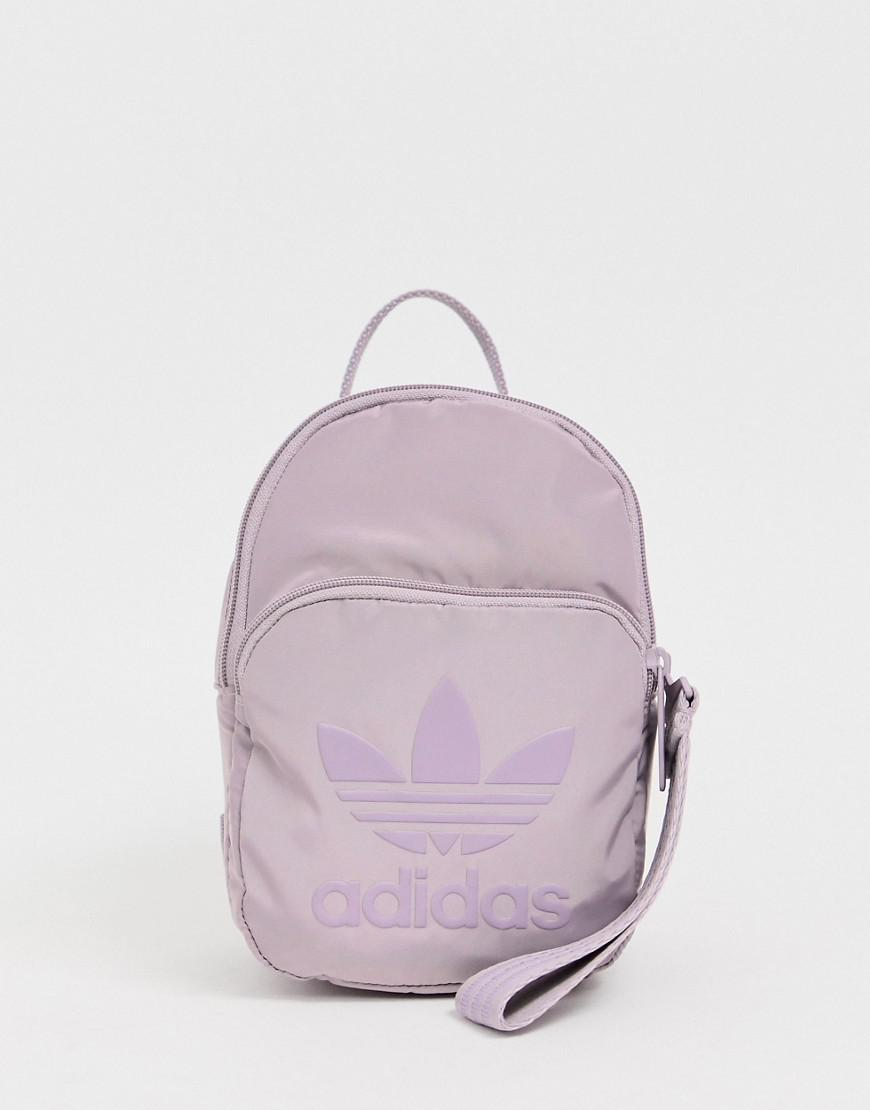 05f4eb84d adidas Originals Sleek Mini Backpack In Purple in Purple - Lyst