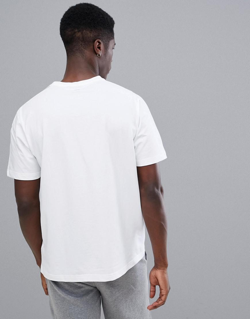 Calvin Klein Logo T-shirt in White for Men - Lyst 50a824f55
