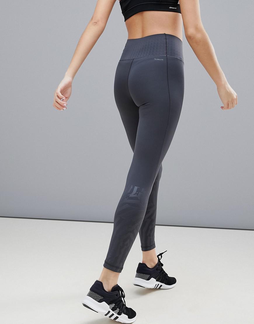 ccb29e6720b00 adidas Training Hi-rise Printed Legging - Lyst