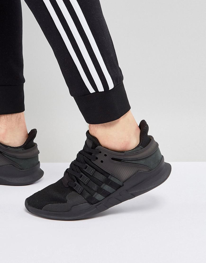 watch ec762 0d526 adidas Originals. Mens Eqt Support Adv In Black Cp8928