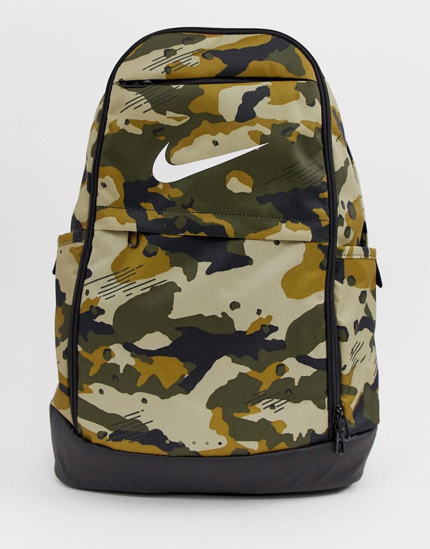 Nike Khaki Lyst uomo per Verde Camo Zaino Brasilia Ba5893 209 TJlFK1c3