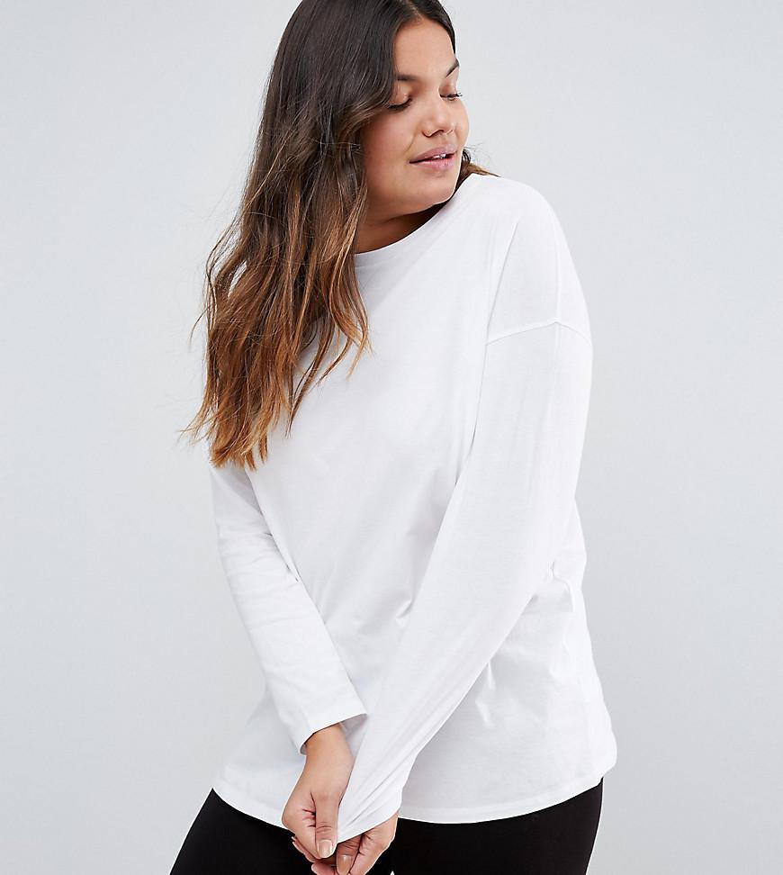 ASOS Cotton Ultimate Long Sleeved Tunic Oversized T-shirt