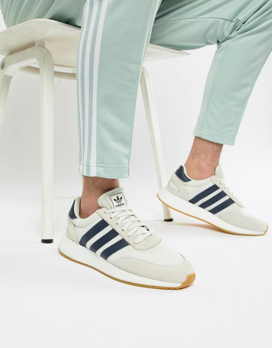 0261f651e3 Lyst - adidas Originals I-5923 Boost Suede Sneakers In White B37947 ...