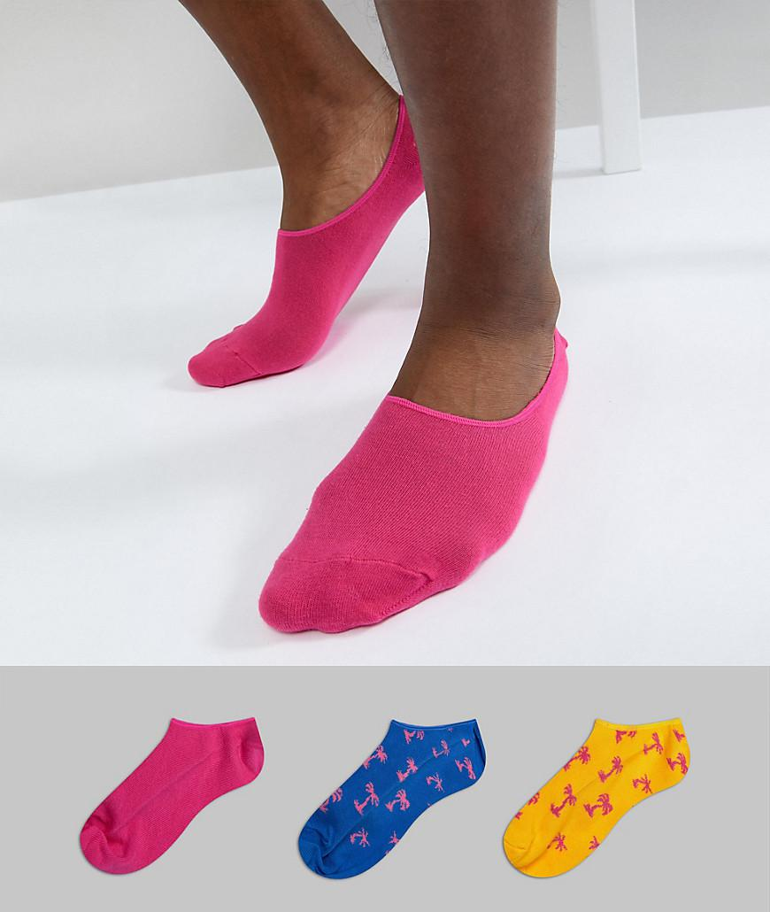 Trainer Liners 3 Pack - Multi Happy Socks Fashionable Cheap Online Cheap Sale Geniue Stockist Best Prices Online 5q0Kd