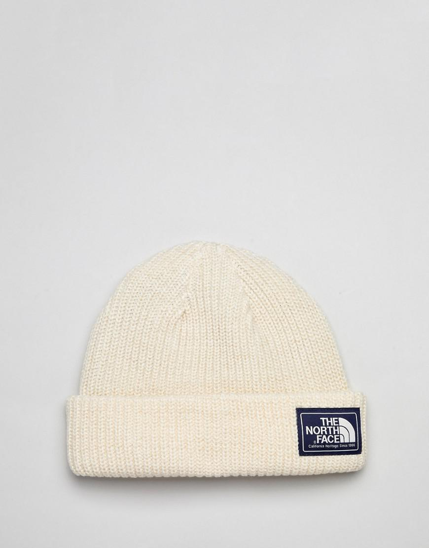 6f5e64bd621 Lyst - The North Face Salty Dog Beanie Hat In White in White for Men