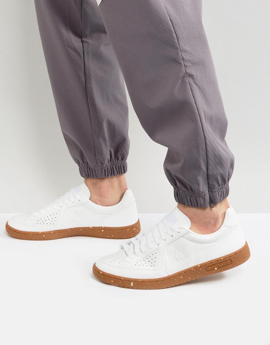 ff5a416fe1bf ... norway le coq sportif icons lea trainers with gum sole in white 1720106  in 462fe e1bfe ...
