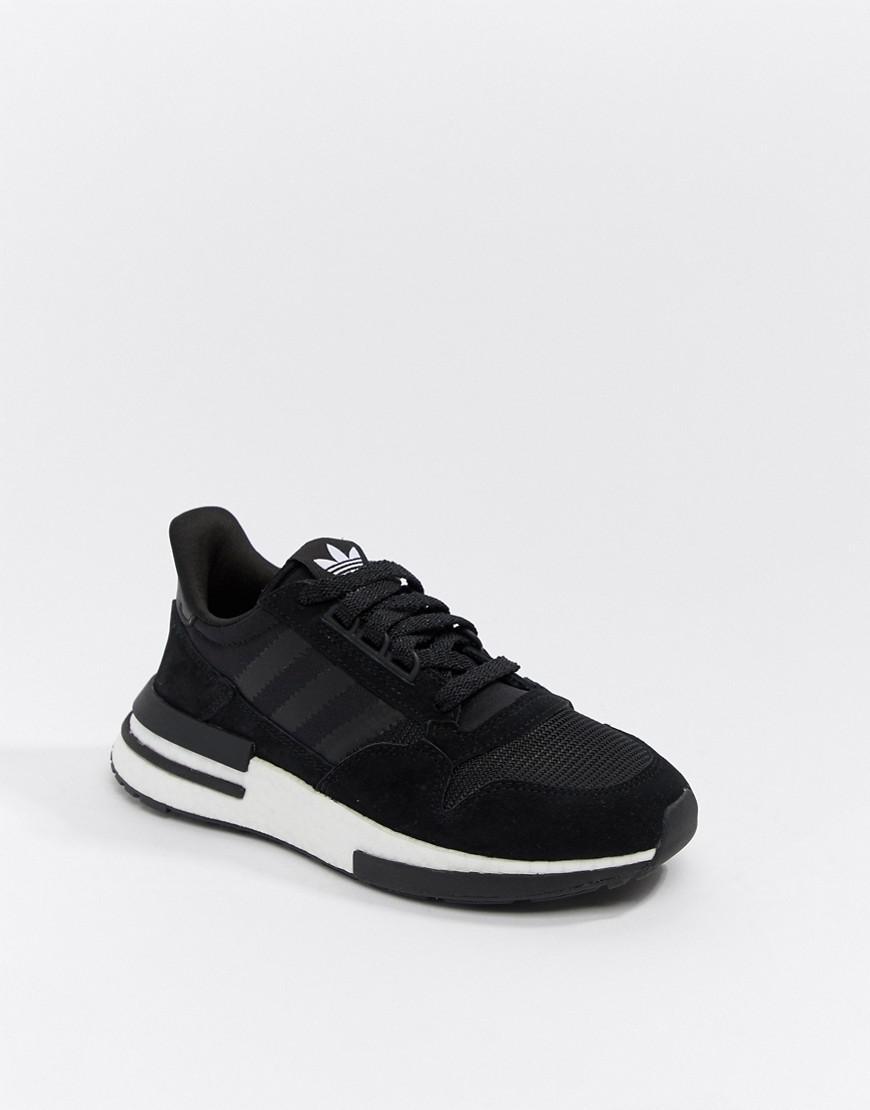 5fc7ae8782f0 Lyst - adidas Originals Zx 500 Rm Sneakers In Black in Black