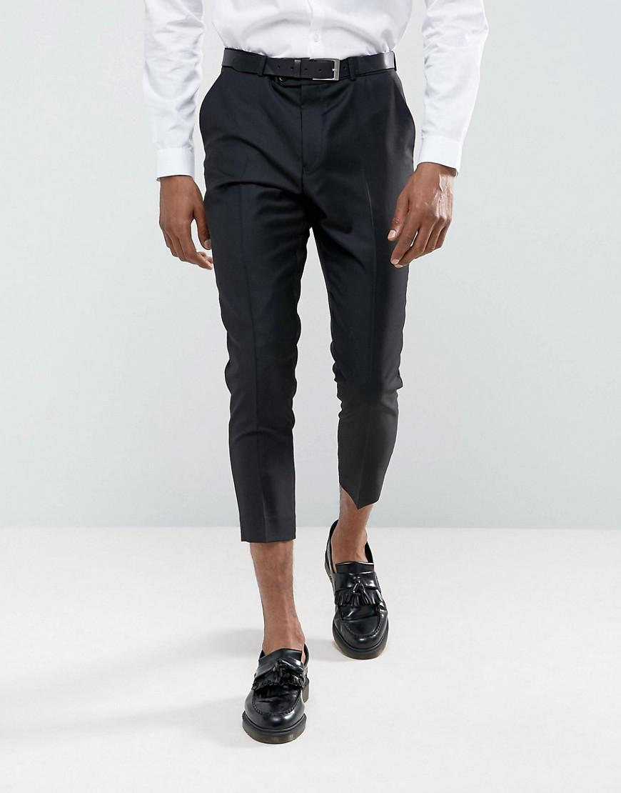 Wedding Tapered Smart Trousers In Sage Green Velvet - Green Asos GcuwfEO