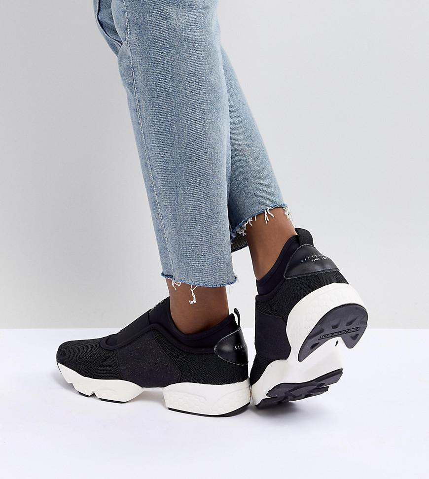 2a59d6da4c Sixtyseven Sixty Seven Runner Trainers in Black - Lyst