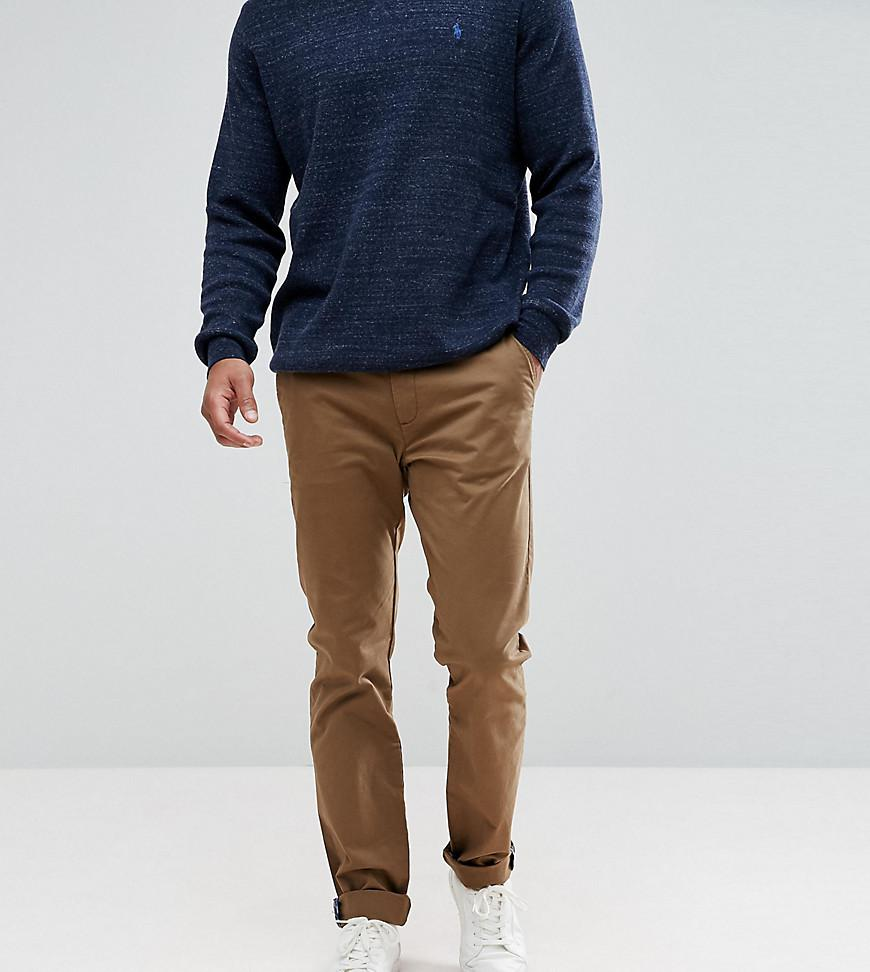T For Tall Ted Baker Slim Chino In Navy - Navy Ted Baker SWE90G