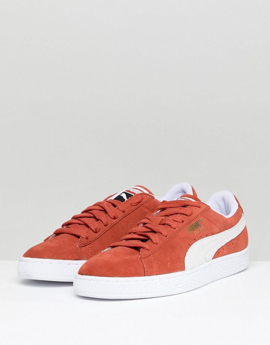 Suède Pumas Baskets Classiques En Orange 36534707 - Orange igVTKF4