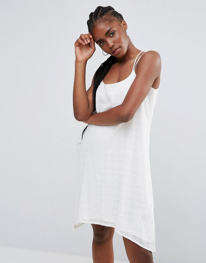 50965c624c20 Bellfield Senna Strappy Cami Dress in White - Lyst
